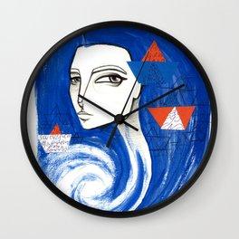 Sou Mar Wall Clock