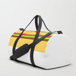 Pantone Food - Hamburger Duffle Bag