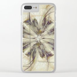 Groundlessness Balance Flowers  ID:16165-144053-72851 Clear iPhone Case