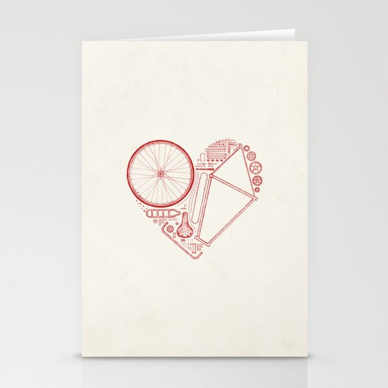 Love Bike Stationery Cards