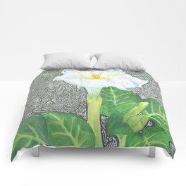 Datura2 Comforters