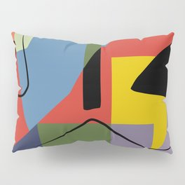 Abstract composition dali Pillow Sham