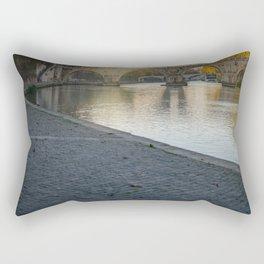 Ponte 2 lungo tevere Rectangular Pillow