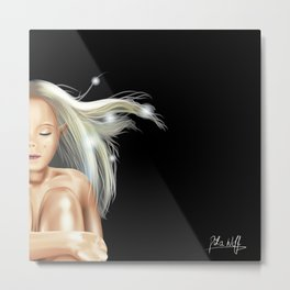 Safe Space (Child of Light) Metal Print