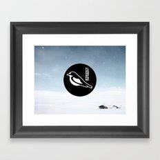 Flugsnappare Framed Art Print