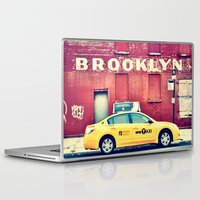 brooklyn Laptop & iPad Skins featuring Brooklyn  by Pinkspoisons