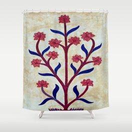 Floral Fresco  Shower Curtain
