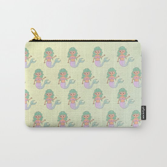 tanned mermaids pattern Carry-All Pouch