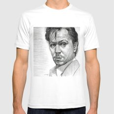 Stansfield (Gary Oldman) Mens Fitted Tee White MEDIUM