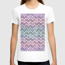 Unicorn Princess Glitter Glam Chevron #1 #shiny #pastel #decor #art #society6 T-shirt
