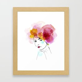 bloomy May Framed Art Print