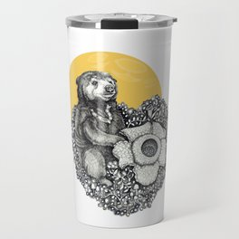 Honey Sun Bear Travel Mug