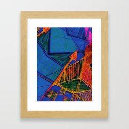 Arrow Doodle Framed Art Print