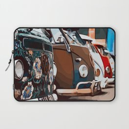 On adventure with the roadtrip bus Laptop Sleeve