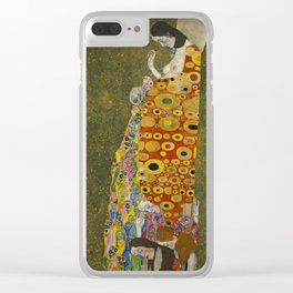 Gustav Klimt - Hope II Clear iPhone Case