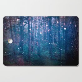 Fairy Lights Cutting Board