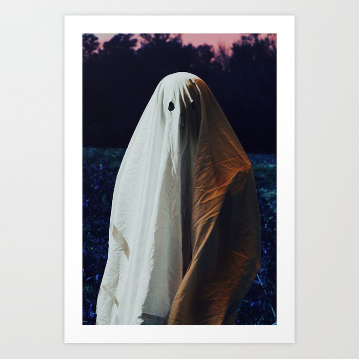 Ghostful Art Print