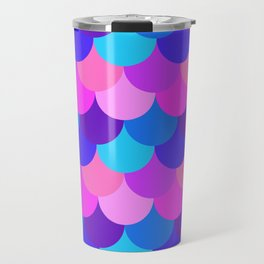 Scalloped Confetti in Electric Orchid Multi Travel Mug