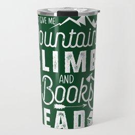 Moutnains & Books - Inverse Travel Mug