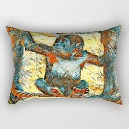 AnimalArt_Gorilla_20170605_by_JAMColorsSpecial Rectangular Pillow