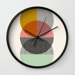 Three's a crowd Wall Clock