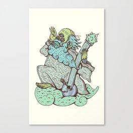Monkey God cloud Canvas Print