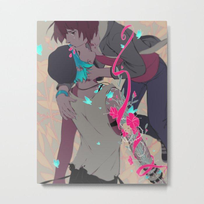 Rewind Metal Print