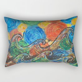 Waves in my Dreams Rectangular Pillow