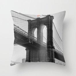Brooklyn Bridge - NYC I.  Throw Pillow