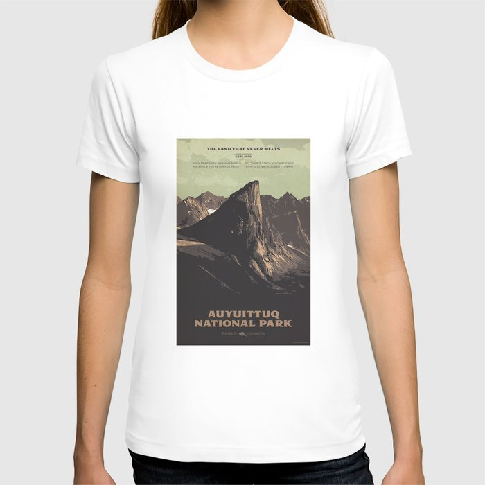 Auyuittuq National Park T-shirt