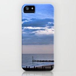 Walcott seafront Norfolk iPhone Case