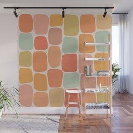 Minimal Blocks - Summer Warmth Wall Mural