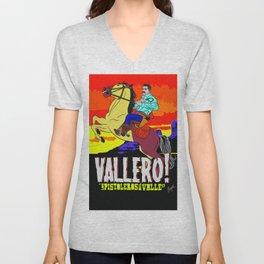 Vallero02 Unisex V-Neck