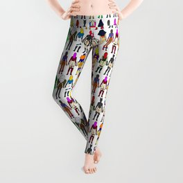 Superhero Butts - Girls - Row Version - Superheroine Leggings