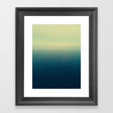 Sky Meets Ocean Framed Art Print