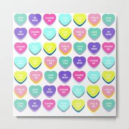 Candy Love  Metal Print