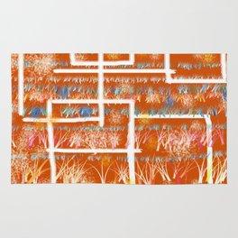 Orange Room Rug