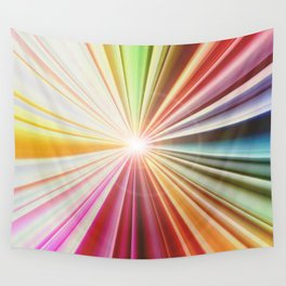 Color Explosion Wall Tapestry