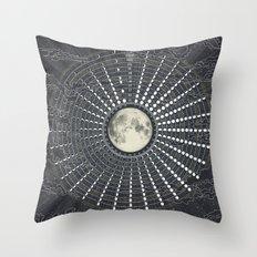 Phases // Moon Calendar 2017 Throw Pillow