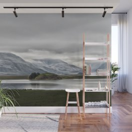 Mountains and Glaciers Iceland Wall Mural