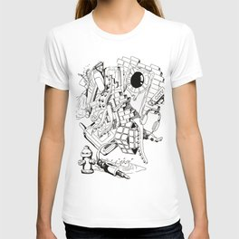 Collage of Thoughts T-shirt
