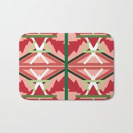 Holiday Pattern Bath Mat