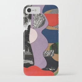 Purple Wave - Collage 46 iPhone Case