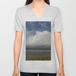 Clouds Over The Marsh Unisex V-Neck