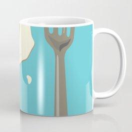 bacon & eggs, blue Coffee Mug