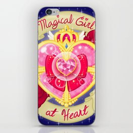 Magical Girl At Heart iPhone Skin