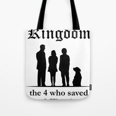 The 10th Kingdom: The 4 Who Saved the 9 Kingdoms Tote Bag