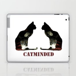Cat minded Laptop & iPad Skin