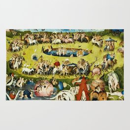 Hieronymus Bosch - The Garden Of Earthly Delights Rug