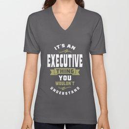 Executive Thing Unisex V-Neck